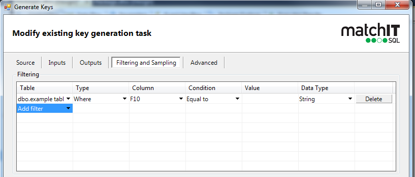 mSQL - SSIS Tutorial - Output Tables, Filtering and Quality Scoring